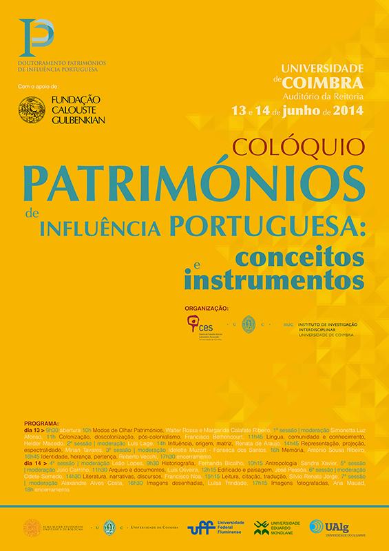 COLOQUIO DPIP 2014 cartaz